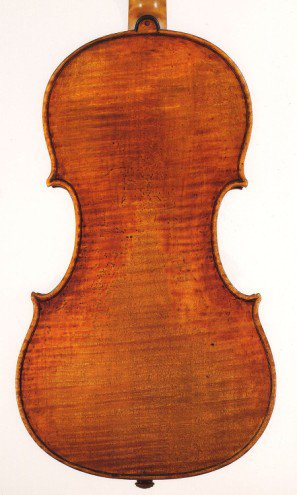 del Gesu, Cremona, 1740 The 'Ysaye' back