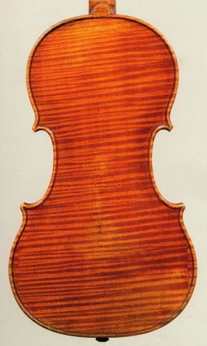 Stradivari, 1690 The 'Tuscan' back