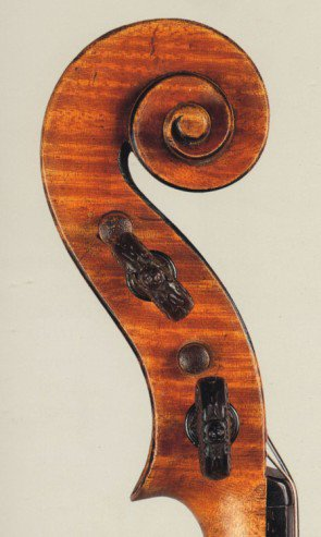 Stradivari, 1690 The 'Tuscan' head