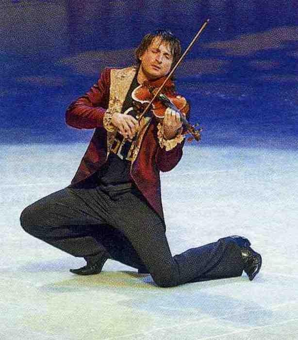 Эдвин Мартон играет на Страдивари
