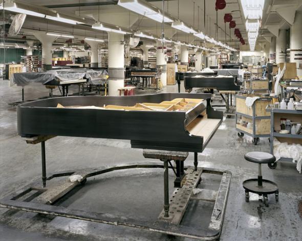 Как делают рояли?
