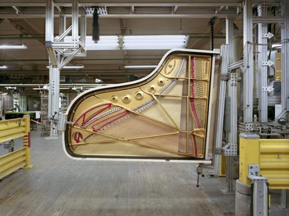 производство роялей
