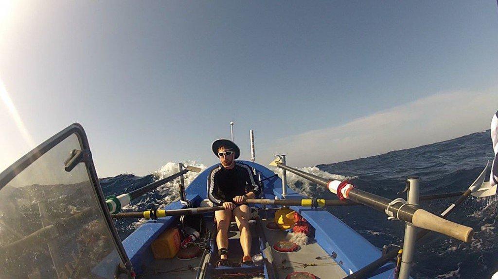 Пересекая Атлантику на вёсельной лодке - напарник