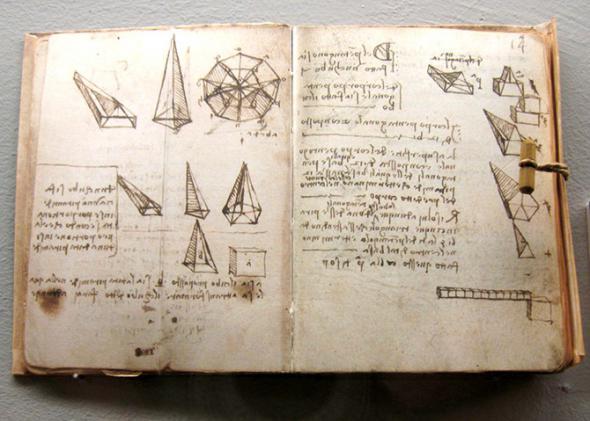 Рукопись Леонардо да Винчи