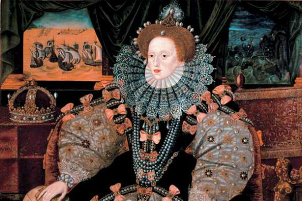 Английская королева Елизавета I