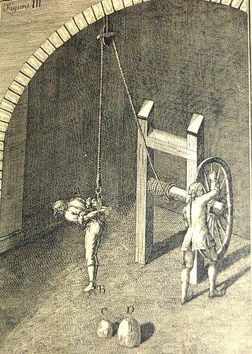 """пытки в """"просвещённой Европе"""""""