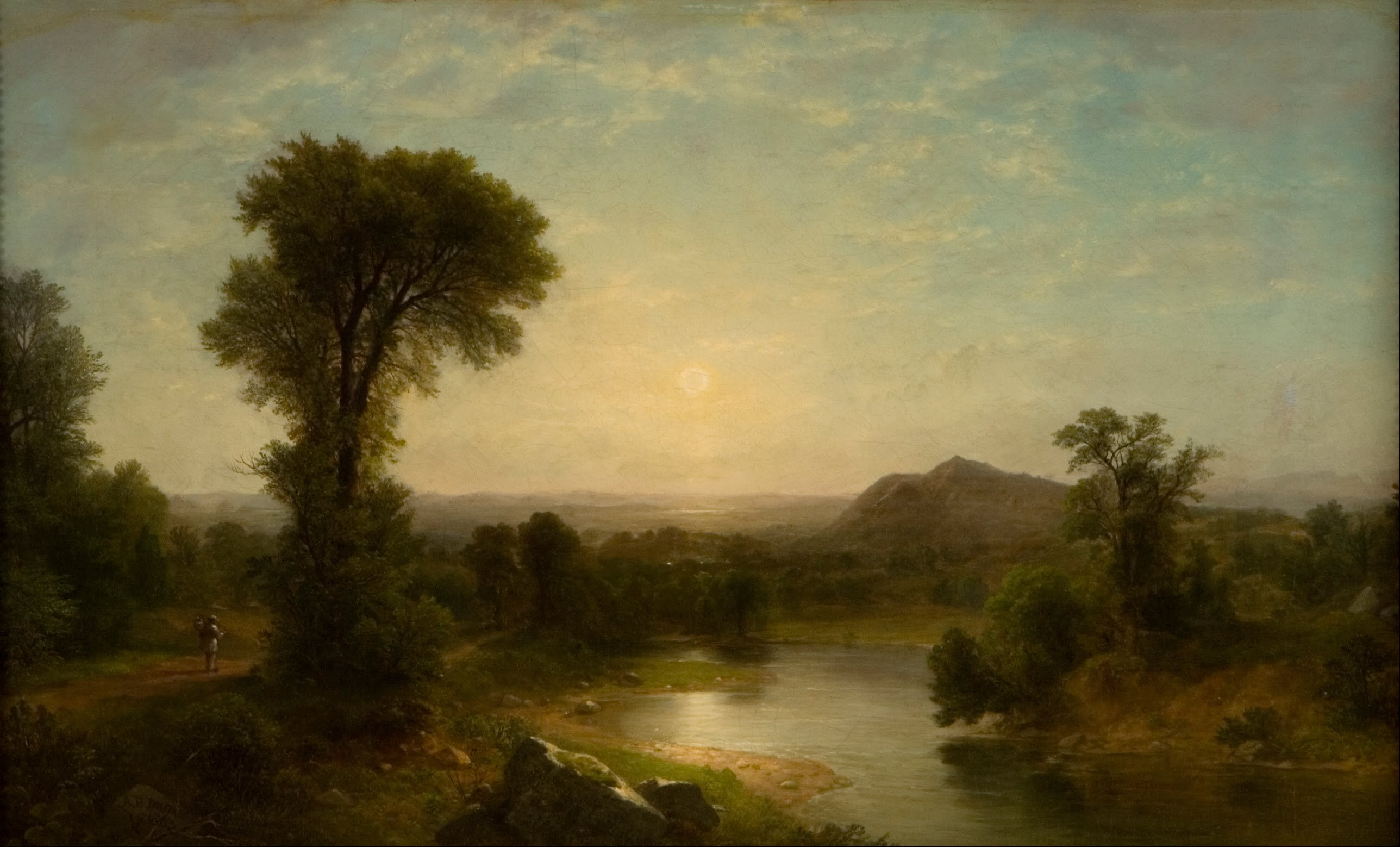 Asher Brown Durand - The Catskill Valley