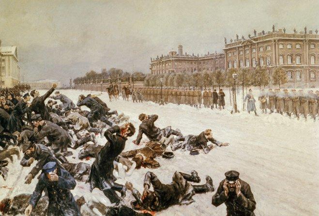 Кровавое воскресенье. 1905 год